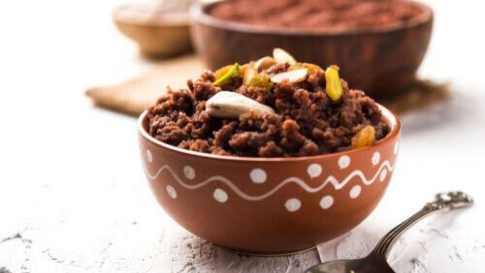 Ragi Chocolate Sheera