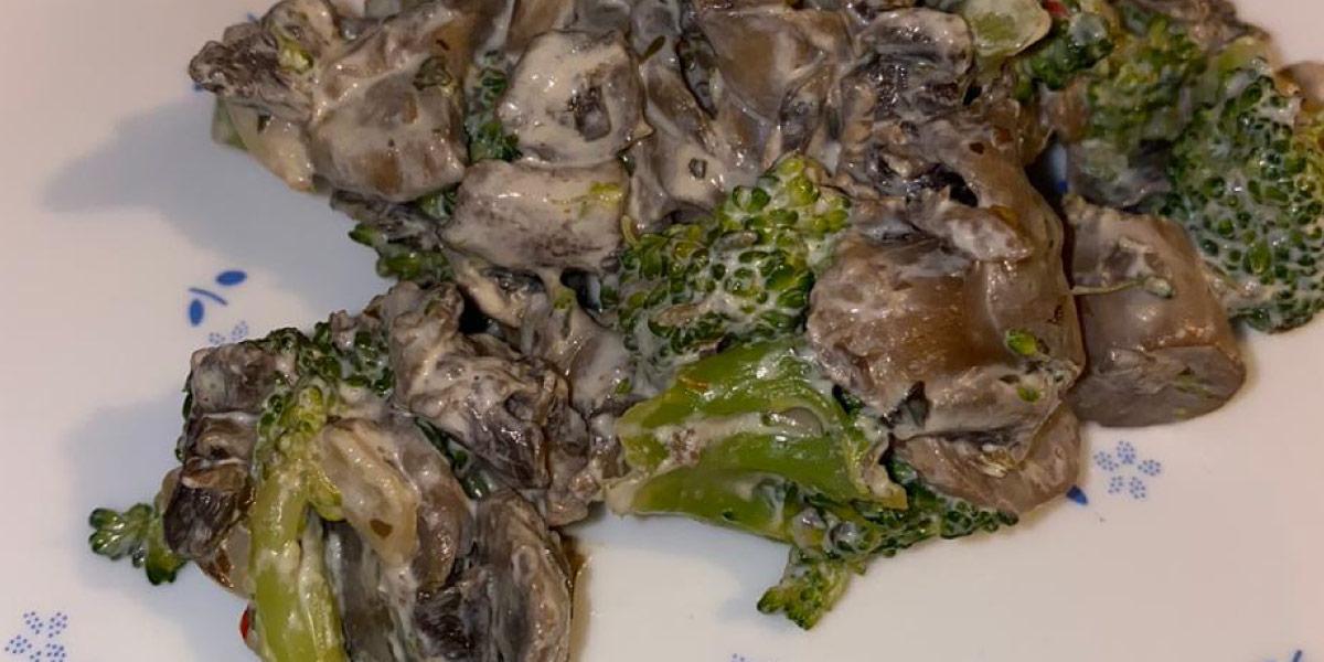 Broccoli-Mushroom