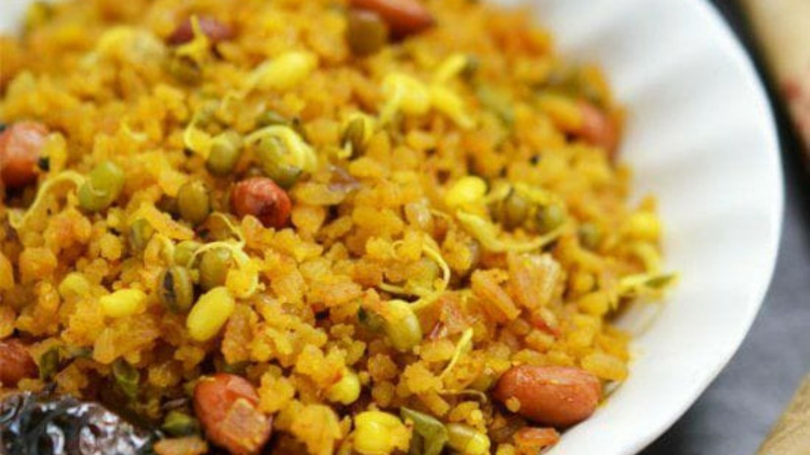 Sprouts Poha