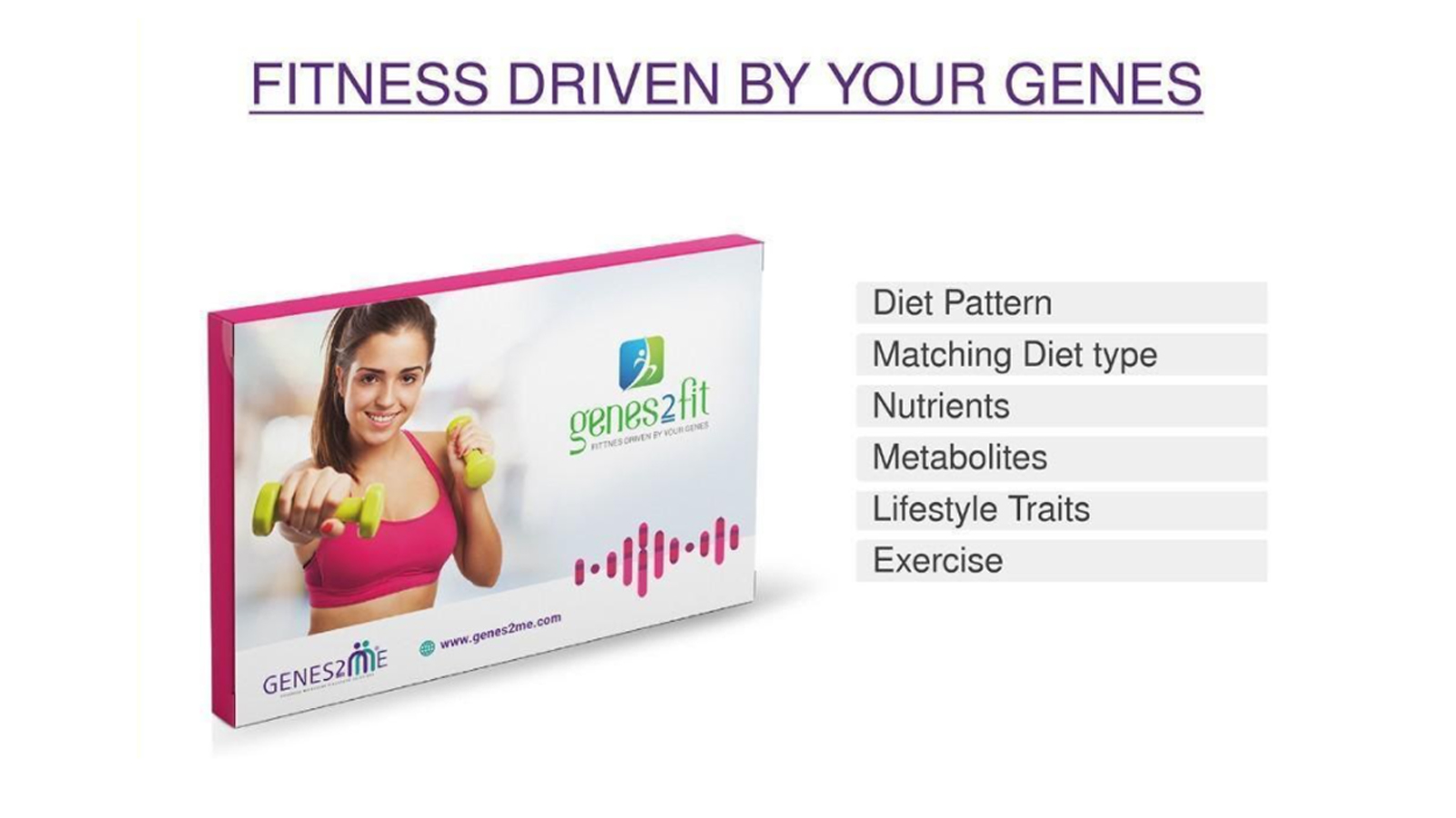 fitness driven by your genes