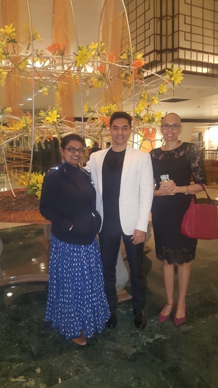 Luke, Pallavi and Vandana